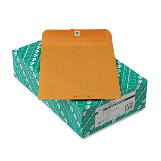 Quality Park Clasp Envelope Recycled 9 x 12 28lb (Pack of 100)