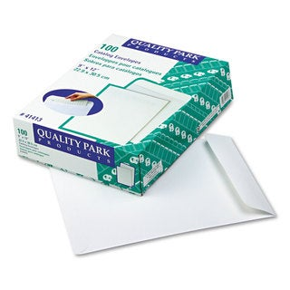 Quality Park Catalog Envelope 9 x 12 White 100/box