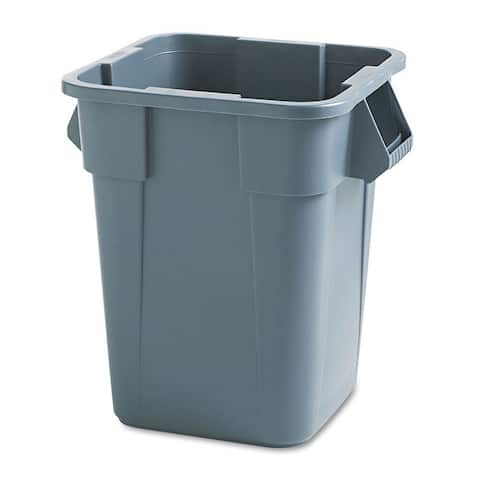 Rubbermaid Grey Brute Square Polyethylene Container