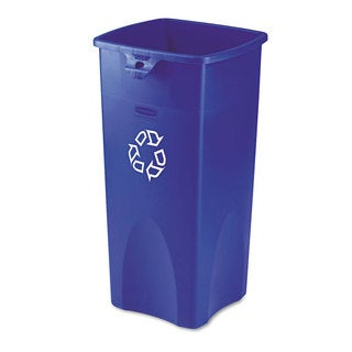 Rubbermaid Untouchable Blue Recycling Container