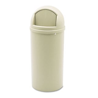 Rubbermaid Beige Marshal Classic Container