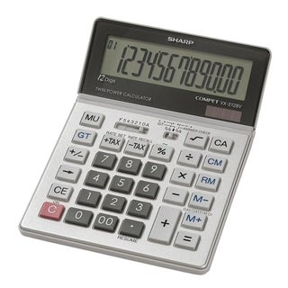 Sharp VX-2128V Compact Desktop Calculator