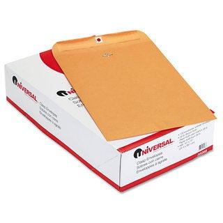 Universal Kraft Clasp Envelope Side Seam 28lb 10 Pack of 100