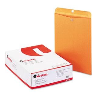 Universal Kraft Clasp Envelope Side Seam 28lb 12 Pack of 100