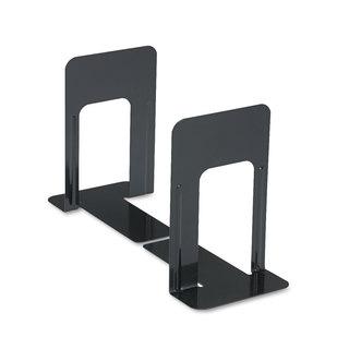 Universal Jumbo Deluxe Heavy Steel Gauge Bookends (Pack of 4)