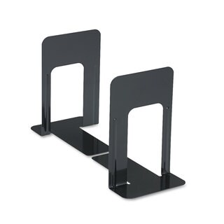 Universal Jumbo Deluxe Heavy Steel Gauge Bookends (Pack of 4)
