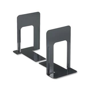 Universal Jumbo Deluxe Heavy Steel Gauge Nonskid Bookends (Pack of 4)