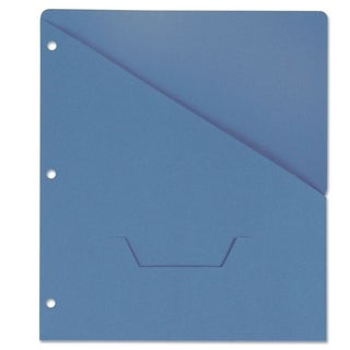 Universal Slash-Cut Pockets for 3-Ring Binders