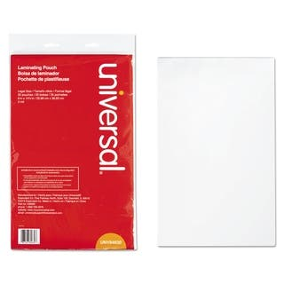 Universal 9 x 14.5 Clear Laminating Pouches (Pack of 25)|https://ak1.ostkcdn.com/images/products/7436929/P14888965.jpg?impolicy=medium