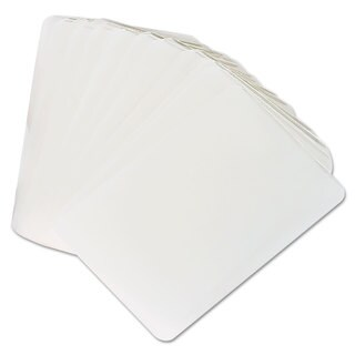 Universal 2 x 4 Clear Laminating Pouches (Pack of 25)