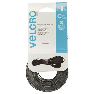 Velcro Reusable Self-Gripping Ties 1/2 x 8 Long