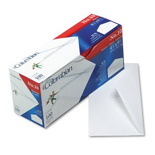 Mead Westvaco Gummed Flap White Business Envelope (Pack of 3)