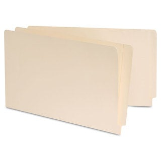 Universal Manila Reinforced Shelf Folder, Legal,