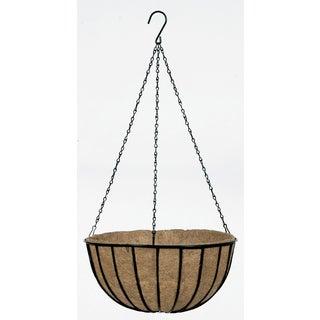 Gardman Traditional Wit Black 14-inch Hanging Basket