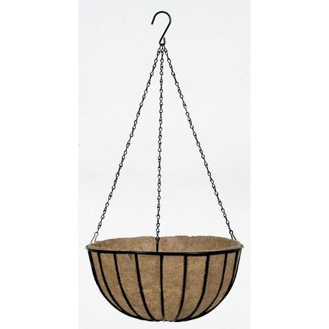 Gardman Traditional Black 16-inch Hanging Wire Basket