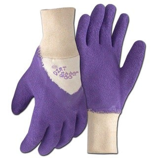 Boss Co Purple Dirt Digger Medium Glove Purple