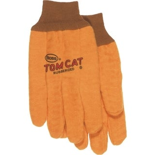 Boss Co Tom Cat Chore Glove Yellow X-Large Pack