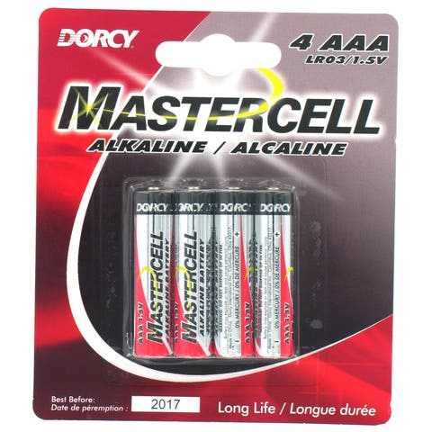 Dorcy International 41-1624 AAA Alkaline Batteries