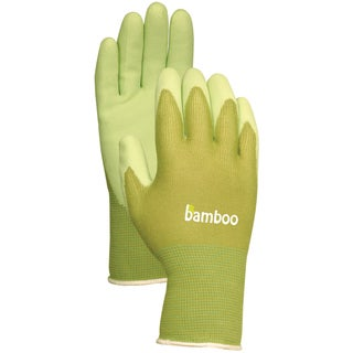 Atlas Glove C5301L Green Bamboo with Rubber Palm