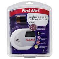 First Alert Carbon Monoxide and Gas Alarm