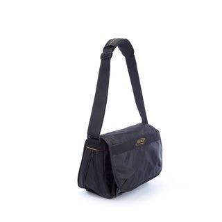 A.Saks Expandable Messenger Bag
