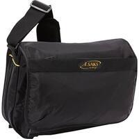 A.Saks E-X-P-A-N-D-A-B-L-E Messenger Bag