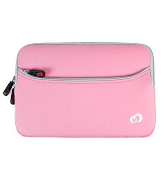 Kroo Pink Glove Series with Pocket for 7-inch Tablets