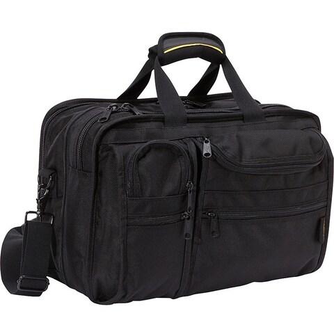 A.Saks E-X-P-A-N-D-A-B-L-E Ballistic Nylon Organizer Briefcase