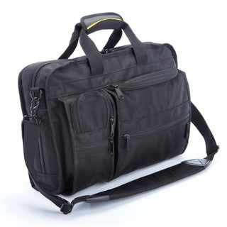 A.Saks Multi-pocket Top Load Briefcase