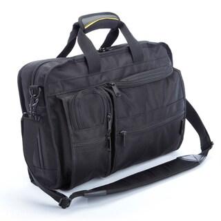 A.Saks Multi-pocket Top Load Briefcase