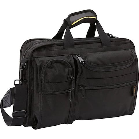 A.Saks Multi-pocket Top Load Organizer Briefcase