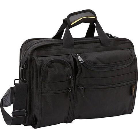 A.Saks Multi-pocket Top Load Organizer Briefcase