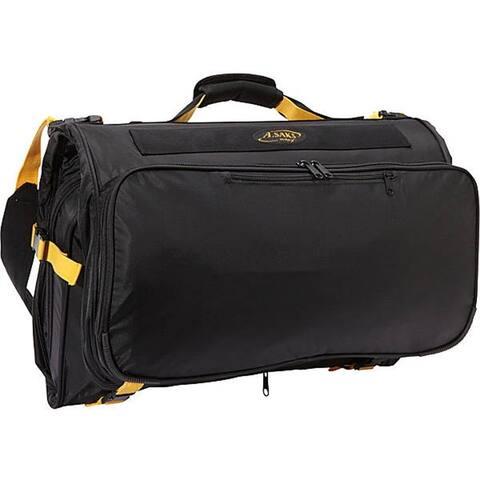 "A.Saks E-X-P-A-N-D-A-B-L-E Deluxe Tri-Fold Carry On Garment Bag - 22"" x 14"" x 8.5"""