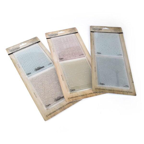 Sizzix Texture Fades 6 Pk Value Kit