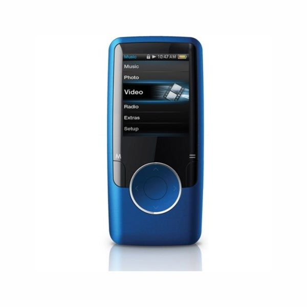 Coby MP620-8GBLU 8GB Blue MP3 Player