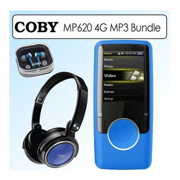 Coby MP620-4G 4GB Video MP3 Player