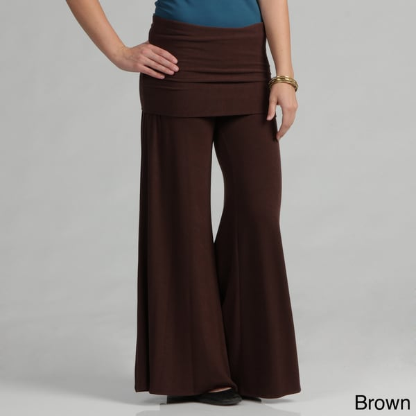 Tabeez Skirted Wide Leg Pants