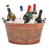 Silver Cooler & Ice Buckets
