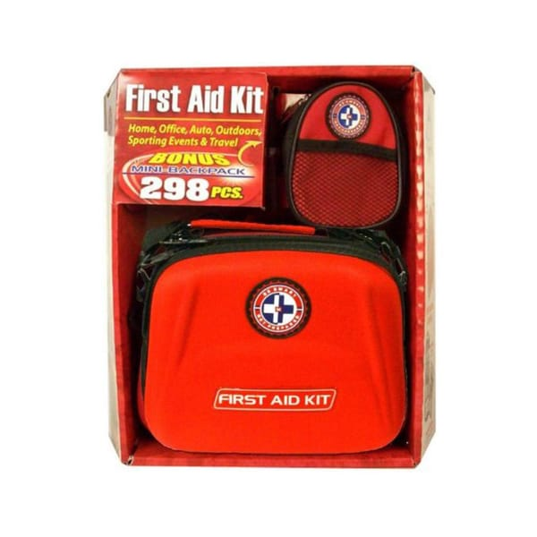 First Aid Travel Kit with Mini Backpack