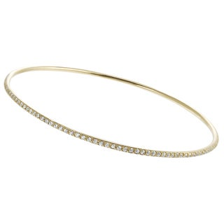 Journee Collection Goldplated Sterling Silver Cubic Zirconia Bracelet