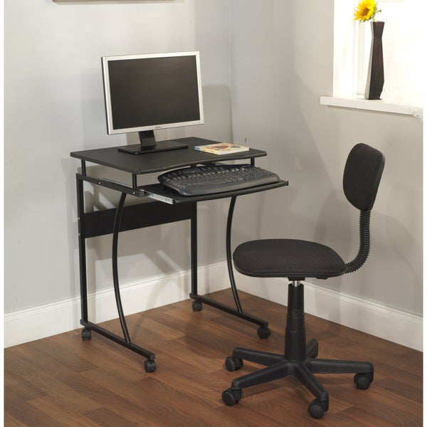 Simple Living Computer Desk Cart and Office Chair Set