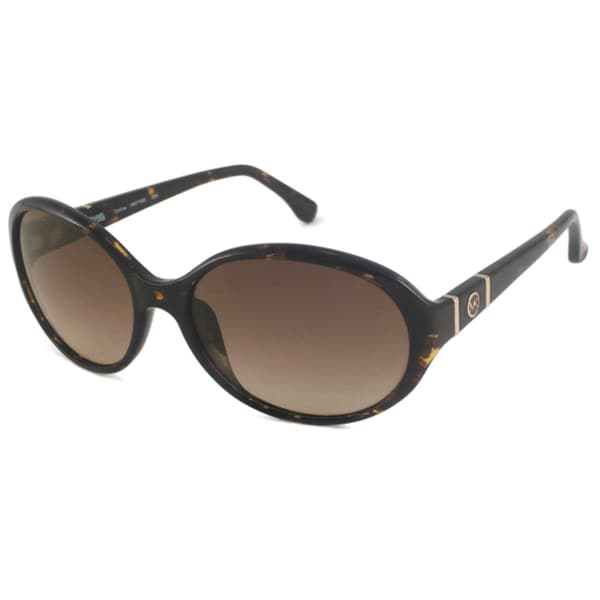 Michael Michael Kors Women's M2776S Collins Oval Sunglasses