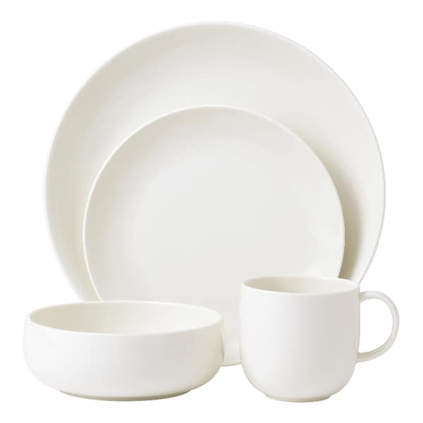 Royal Doulton Mode White 4-piece Place Setting
