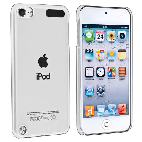 Insten Clear Hard Snap-on Crystal Case Cover For Apple iPod Touch 5th/ 6th Gen