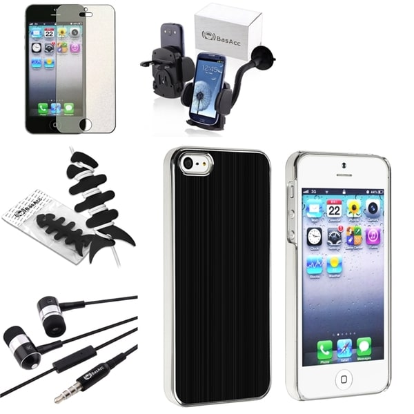 BasAcc Case/ Screen Protector/ Headset/ Mount for Apple iPhone 5