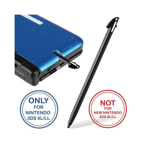 Insten Black Stylus Replacement for Nintendo 3DS XL/ 3DS LL