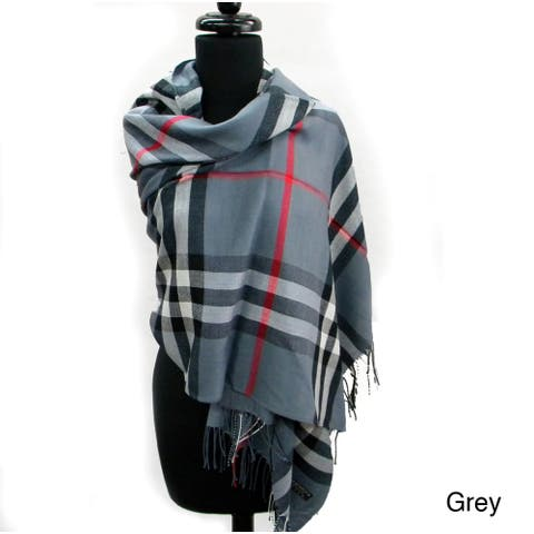 ab5fe28be24 Buy Grey Scarves Online at Overstock | Our Best Scarves & Wraps Deals