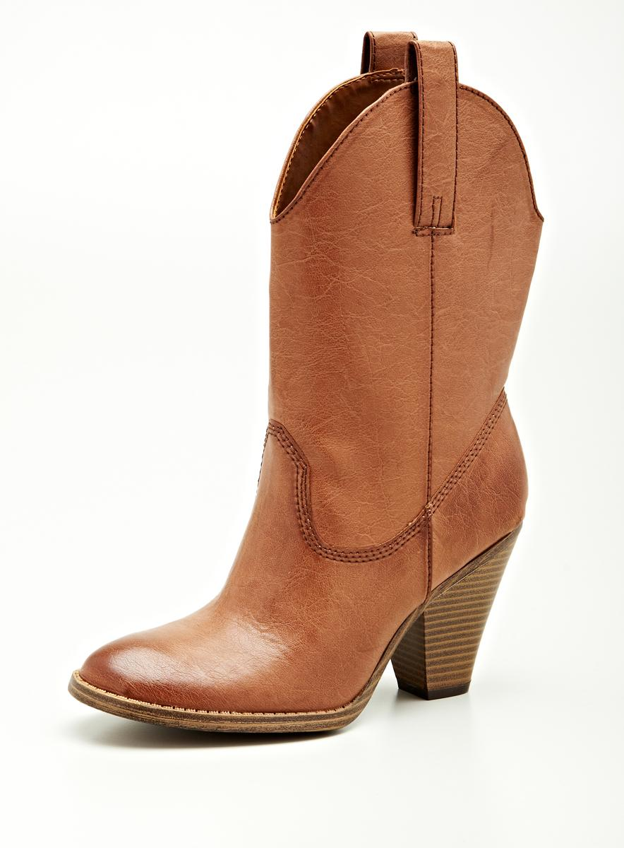 Madden Girl by Steve Madden Mg Hh Western Mid Shaft Boot