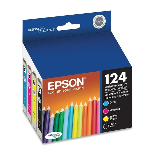 Epson DURABrite 124 Moderate Capacity Ink Cartridge