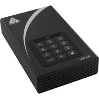 "Apricorn Aegis Padlock ADT-3PL256-1000 1 TB Hard Drive - 3.5"" Drive -"